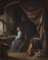 Dou, Woman at the Clavichord