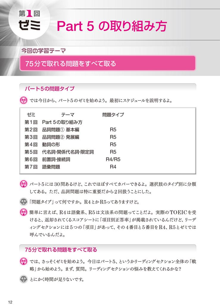 【新形式問題対応/CD-ROM付】 TOEIC(R) L & R テスト 究極のゼミ Part 5 & 6