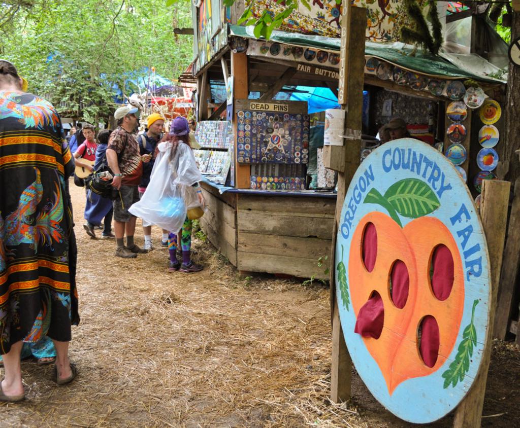 毎年7月に開催される「オレゴン・カントリー・フェア」。ヒッピー文化と関係深いカウンターカルチャー発祥のイベント。