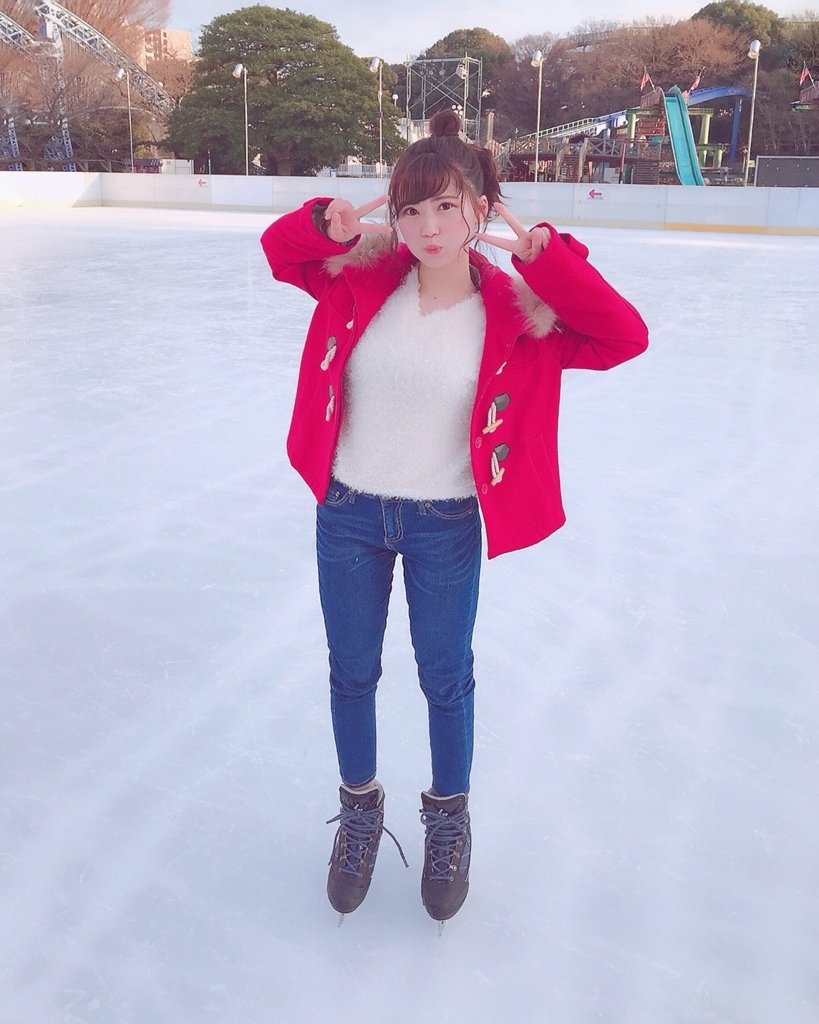 先日、初めてアイススケートをやったんです!