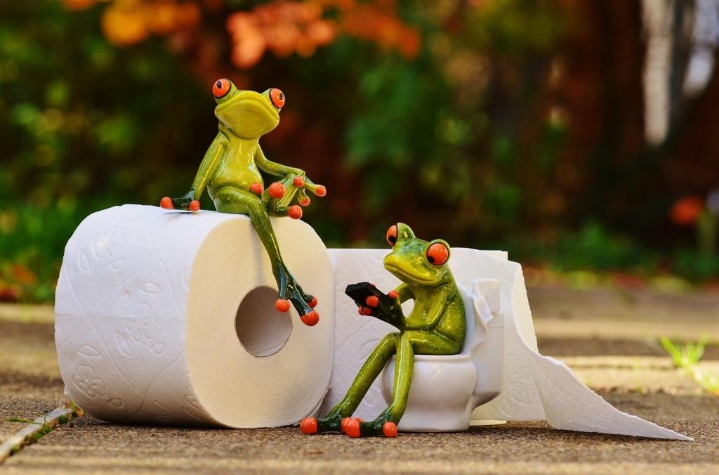 トイレで行う「ビジネス」って何? 英語多読ニュース