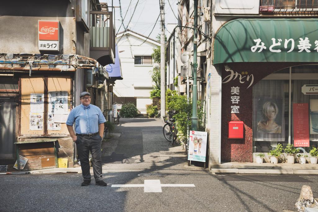 文京区根津にオフィスがあるセインさんは、通称「谷根千」エリアを熟知。セインさんにご案内いただき、近所を散策しました。