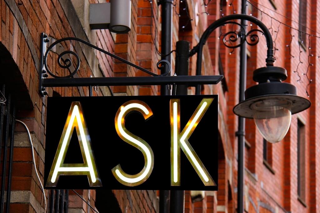 質問が理解できない・聞き取れないときはしっかりと聞き返す