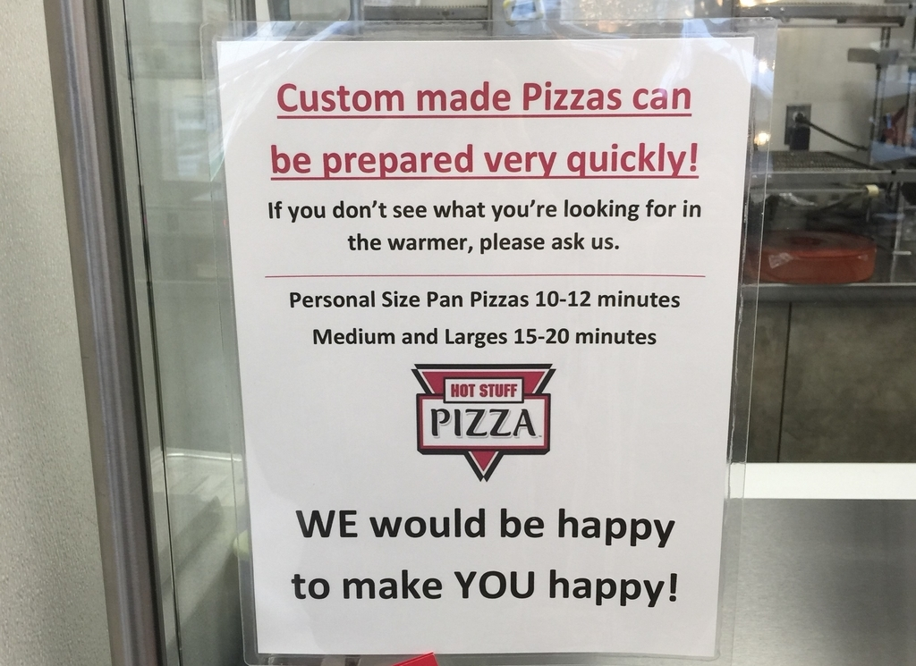 WE would be happy to make YOU happy!