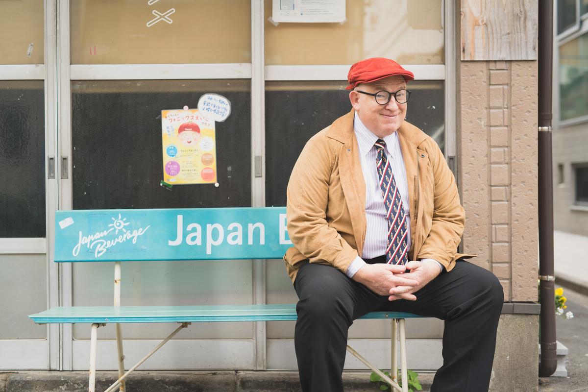 東京・根津エリアを散策デイビッド・セインさん