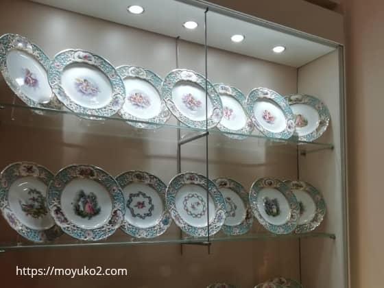 旧王宮の銀器コレクション