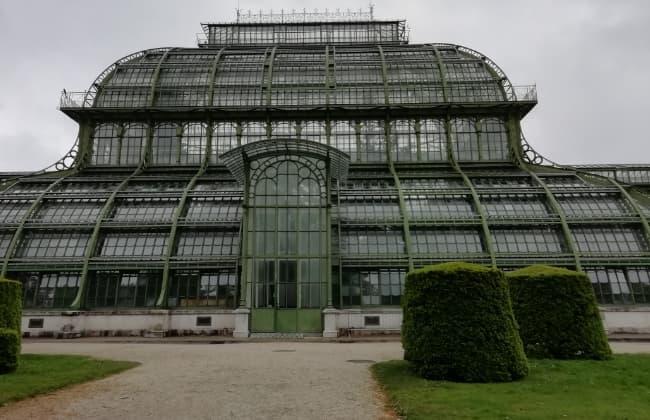 シェーンブルン宮殿の温室