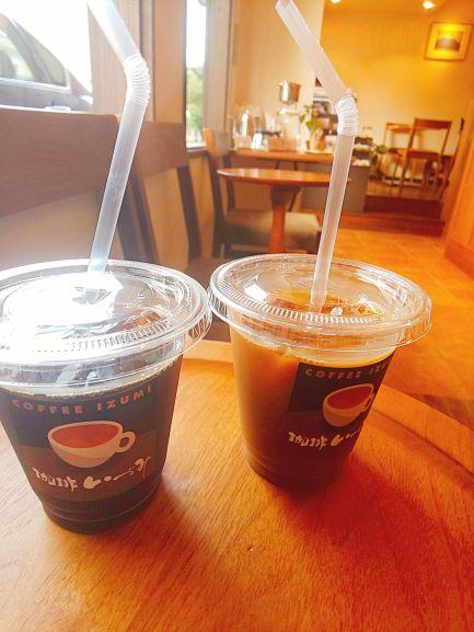 珈琲いずみ 持ち帰り アイスコーヒー