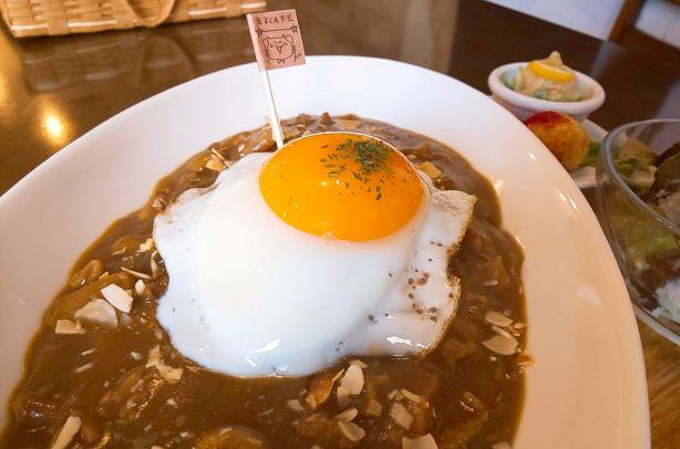 まるカフェ「カレーランチ」