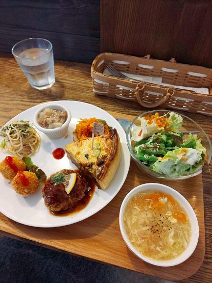 Marucafe 「Quiche Lunch」 Kagoshima City