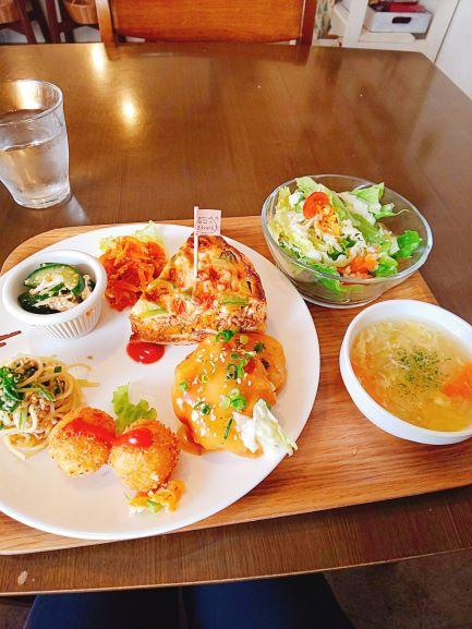 Marucafe Quiche Lunch Kagoshima City