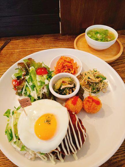 Marucafe 「Hamburg Steak Lunch」 Kagoshima City