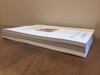 印刷したエンディングノートの厚さ