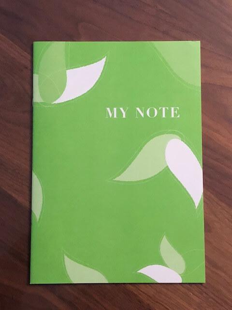 シンプルなお葬式の資料を請求すると同封されるエンディングノート