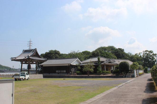龍音寺の全景写真
