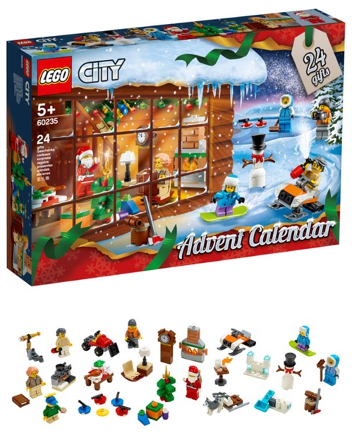 レゴシティ アドベントカレンダー