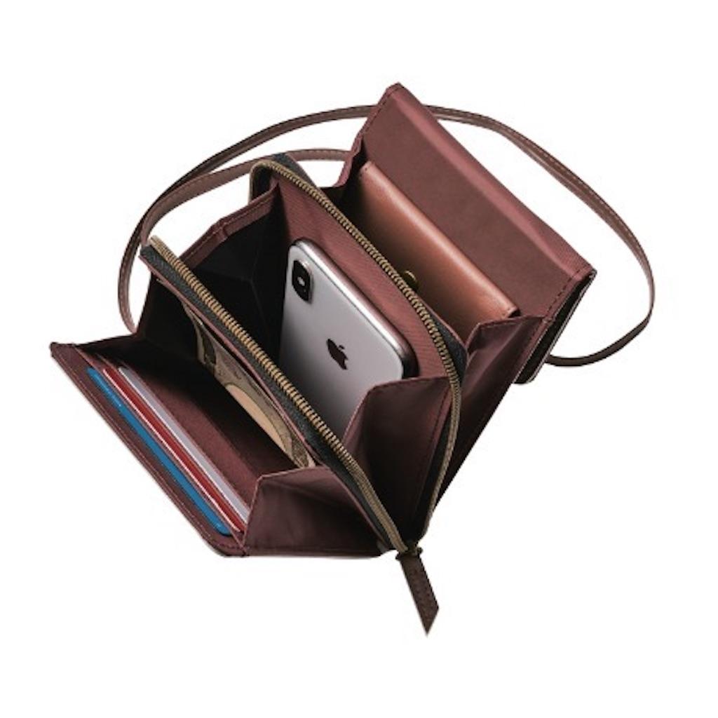MonoMax モノマックス 2020年 5月号 増刊 ナノ・ユニバース 縦型ショルダー財布