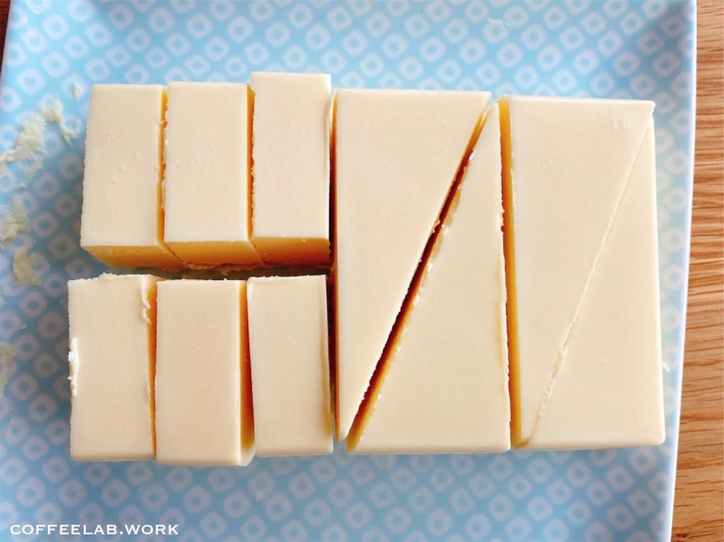 業務スーパーの人気商品 リッチチーズケーキ カットの仕方