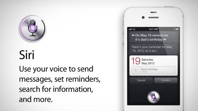 iPhone4Sの新しいCMを見てみた