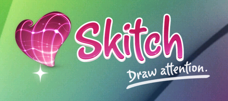 やっとみつけた!Mac御用達スクショ加工ソフト「Skitch」の機能!