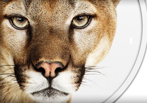 Mac OS X Mountain Lionにアップグレードしました
