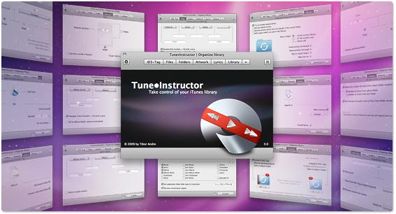 """これは便利!iTunesで再生中の曲情報や歌詞を表示する""""Tune・Instructor"""""""