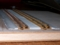 バラスト散布部分のかさ上げ。工作用紙4枚積層
