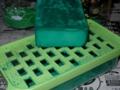 緑色は・・・ ムラが。