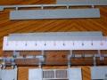 塀の寸法を計測