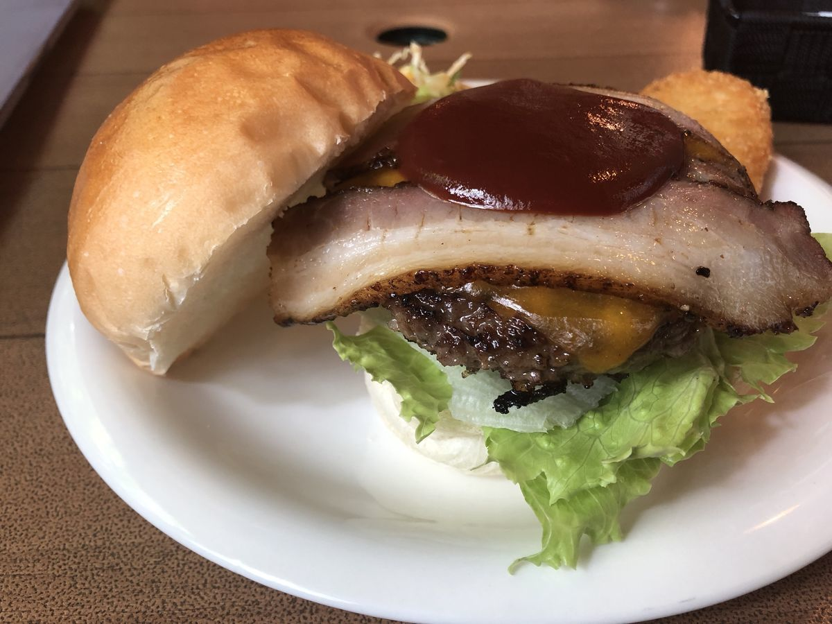 デノリーズダイナー ハンバーガー
