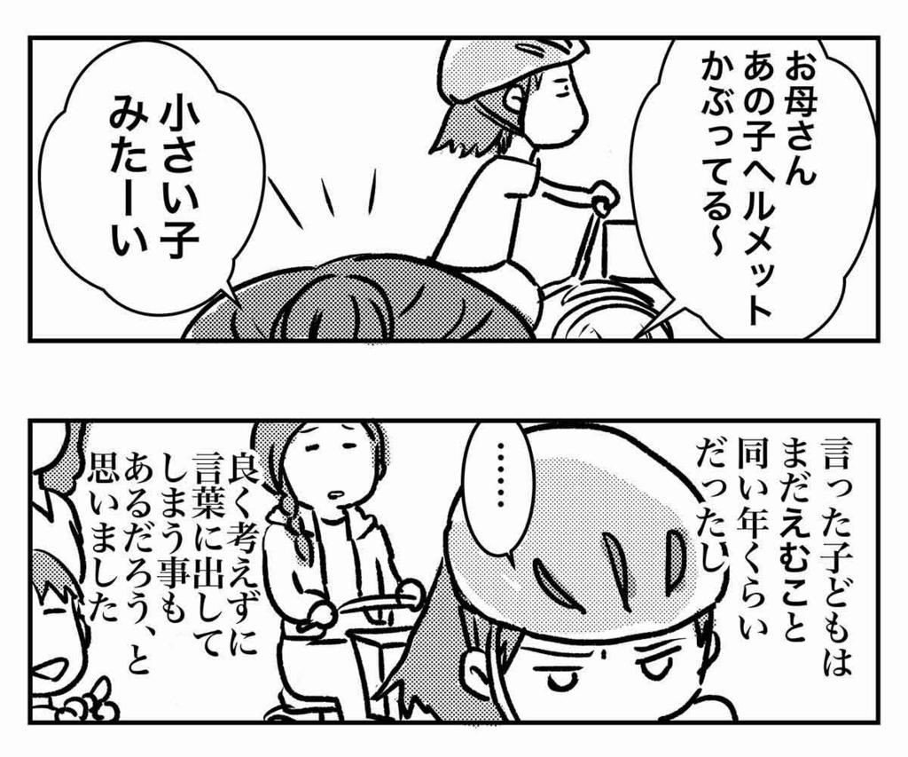 子供が自転車に乗る時はヘルメット着用努力義務があります