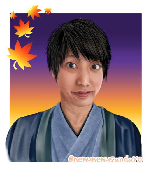 若井さん肖像画小物なし