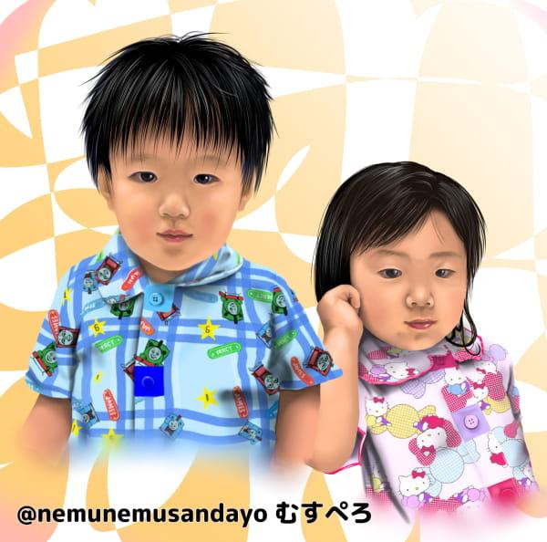双子の肖像画