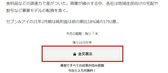 日経電子版全文表示