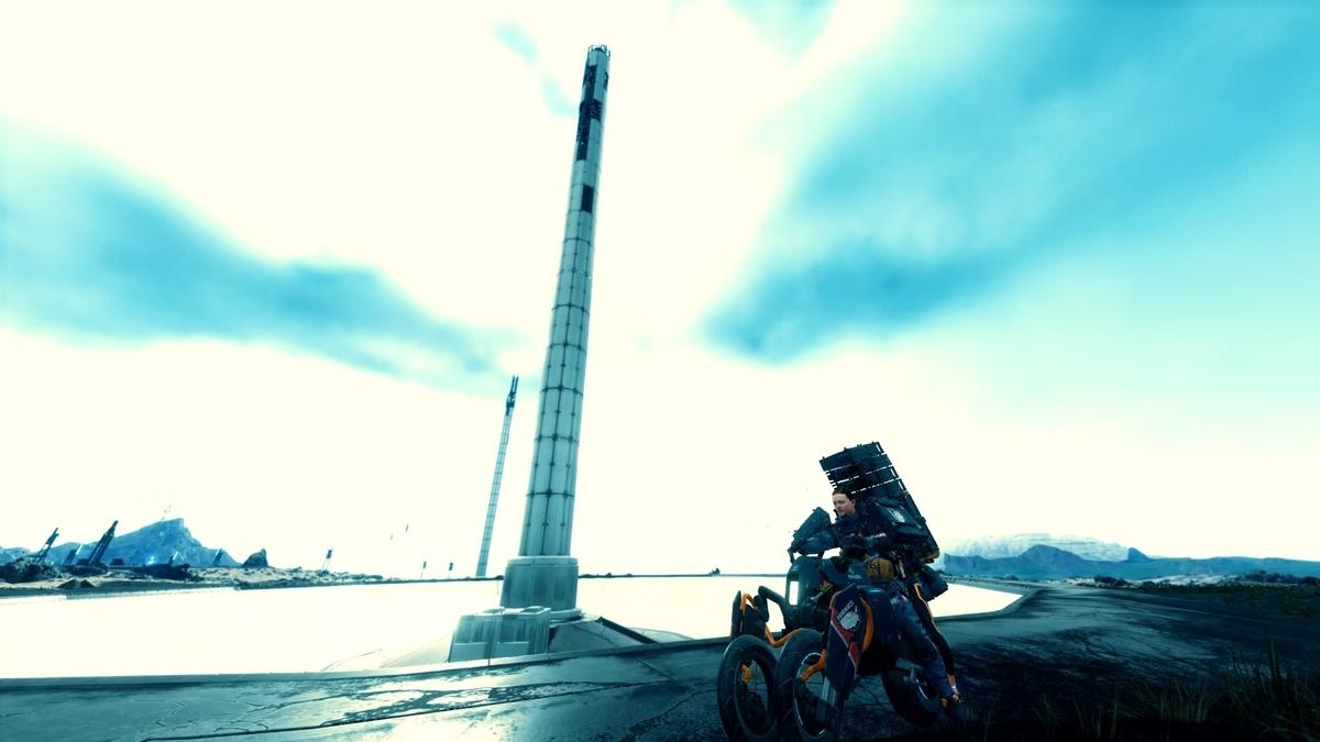 PS4『デス・ストランディング』のスクリーンショット