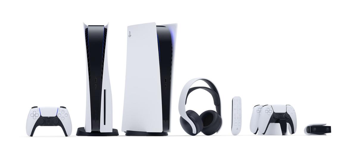 PlayStation 5の本体写真
