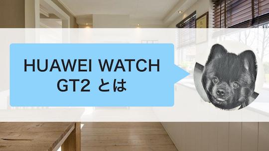HUAWEI WATCH GT2とは