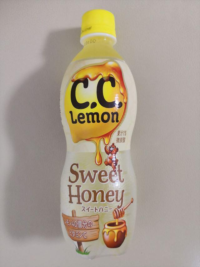 サントリーが期間限定で発売したCCレモンのスイートハニー蜂蜜味を買った