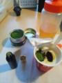 プロポリスとハチミツとR-1と抹茶