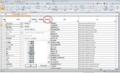 Excel画面フィルター