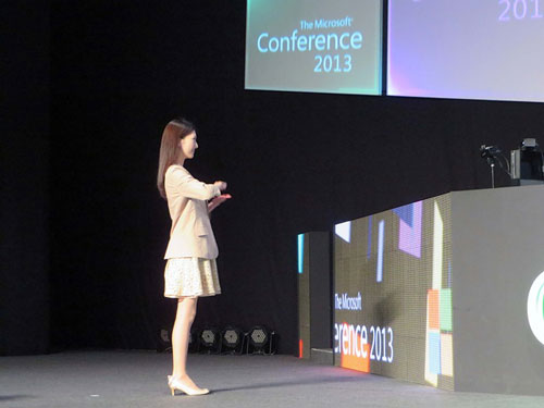 The Microsoft Conference 2013デモ風景
