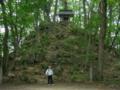 愛宕神社と人物比較