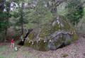 丹内山神社のアラハバキ大神の巨石