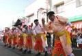 大東大原水かけ祭り-仮装手踊り
