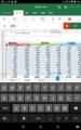 Android版Officeキーボード表示