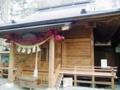 衣川三峰神社拝殿