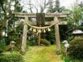 衣川三峰神社の鳥居