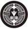 南部家家紋「向鶴に九曜紋」