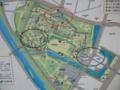 盛岡城址公園地図