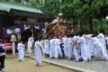 宮古「熊野神社」例大祭